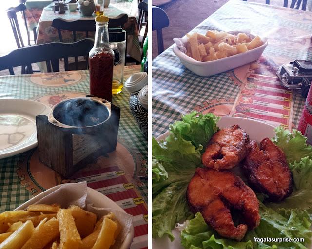 Barraca das Gêmeas, restaurante em Fernando de Noronha: