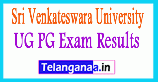 Sri Venkateswara University Results