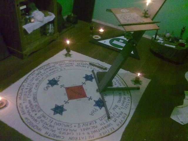 My Goetia Circle and Triangle of Art