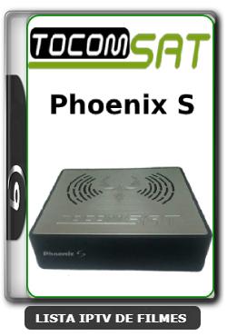 Tocomsat Phoenix S Nova Atualização Satélite SKS KEYS 61w ON V1.32 - 01-04-2020