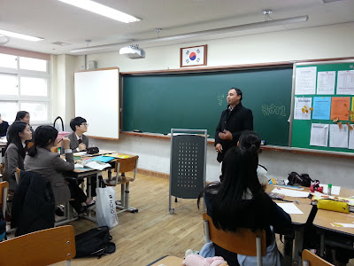 Pengalaman mengajar di Korea, merupakan pengalaman terbaik sepanjang bergelar guru