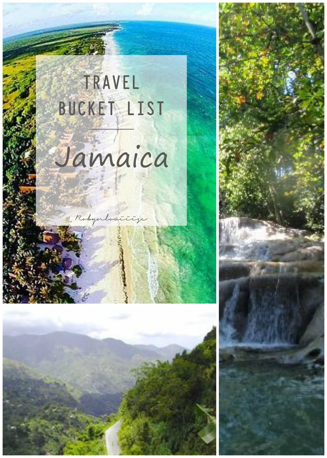 Bucket List, Jamaica, Travel