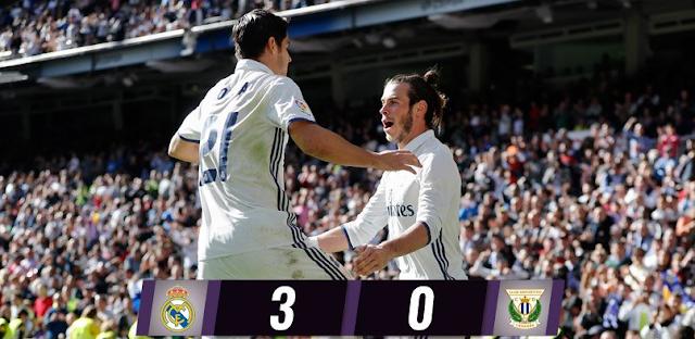 Real Madrid 3-0 Leganes