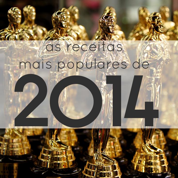 As Receitas mais Populares de 2014
