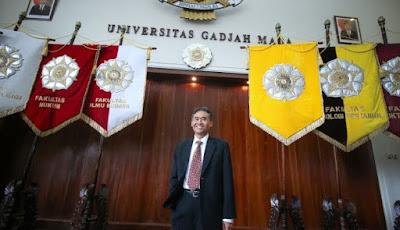 Panut Mulyono, Dari Desa Hidup Prihatin Hingga Sukses Menjadi Rektor UGM 2017-2022 www.guntara.com