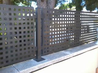 Valla de metal Tarragona