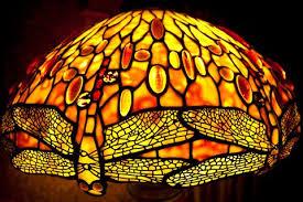 Thế Giới Đèn Trang Trí Tiffany Kính Màu Nghệ Thuật