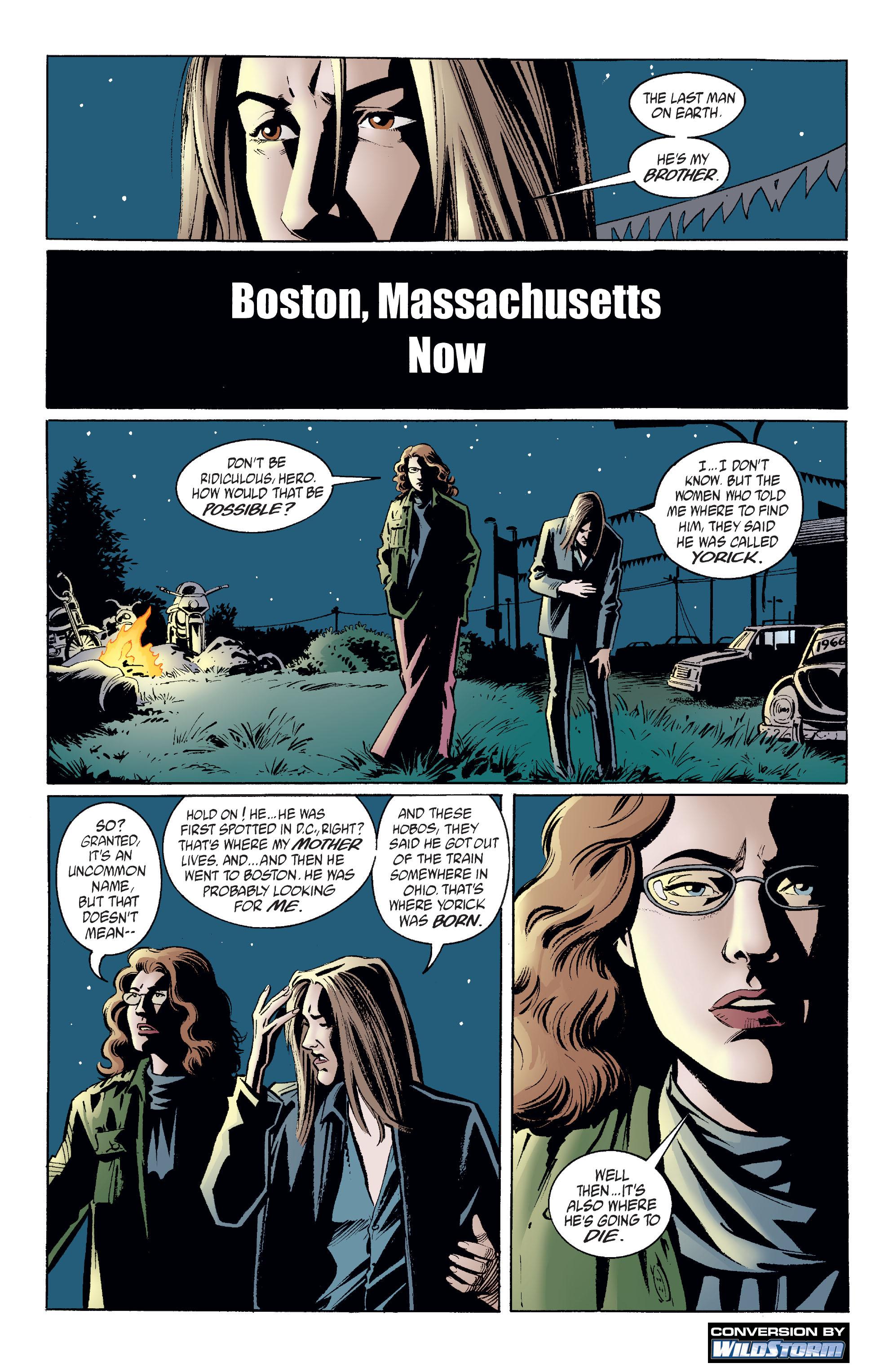 Y: The Last Man (2002) 8 Page 2