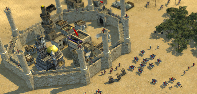 تحميل لعبة stronghold 3 gold edition 2013 مضغوطة