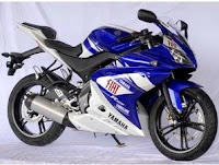 Moge Yamaha YZF-R125 Motor Valentino Rossi
