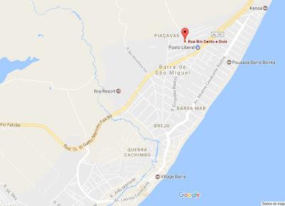 Casa a venda na Barra de São Miguel, loteamento Barra Mar, 2 quartos com 113 m² de área coberta.