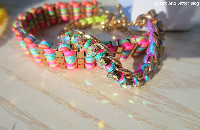 RACHEL FRIENDSHIP BRACELET SET Rainbow Bracelet