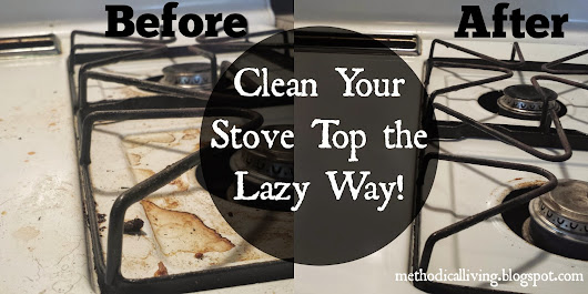 How to Clean a Stove Top