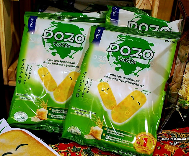 DOZO Japanese Rice Cracker - Original Flavour - Perisa Asli