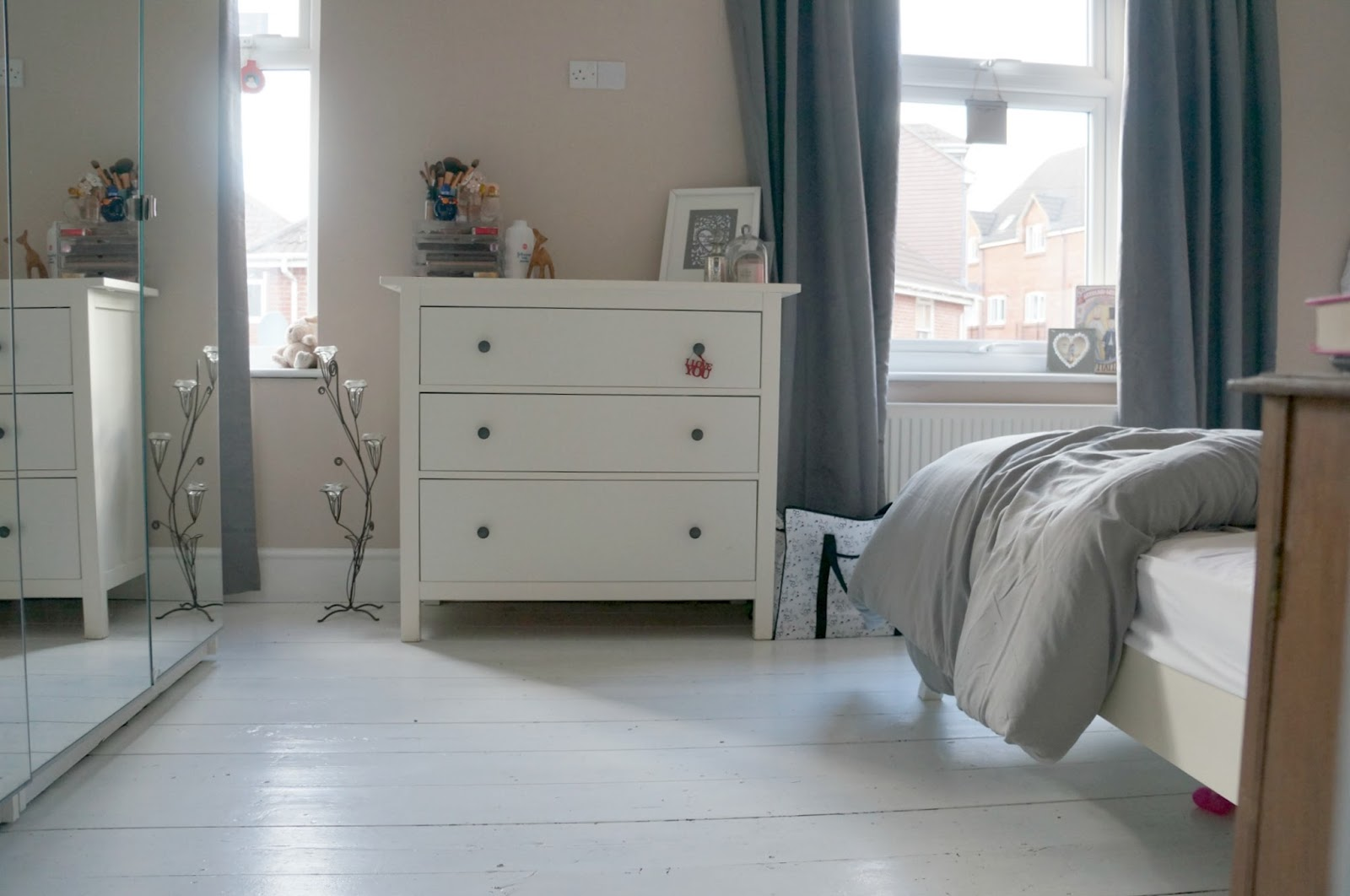 Our White Floorboards: How we achieved them and looking after them.
