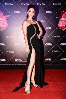 Vedhika At Nykaa Femina Beauty Awards 2019
