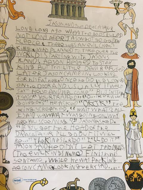 Part 1 of a Greek God story
