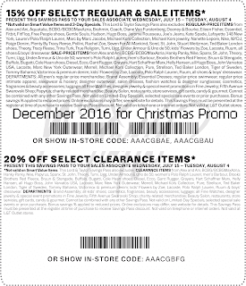 Lord & Taylor coupons for december 2016
