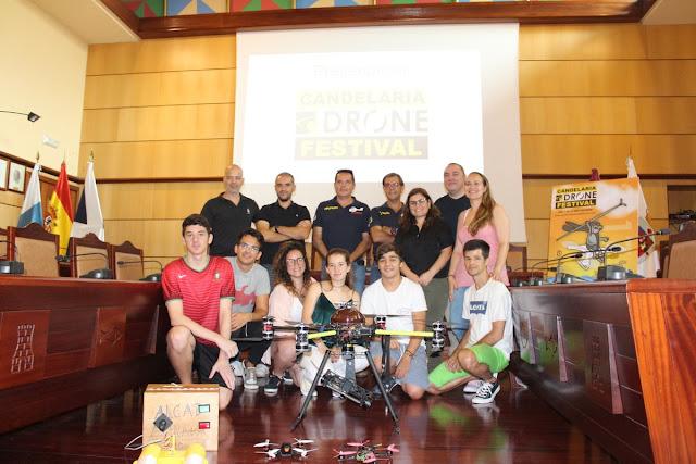 Presentación pública del Candelaria Drone Festival 2017