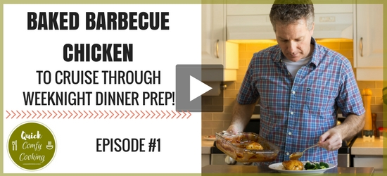 Video: Baked Barbecue Chicken