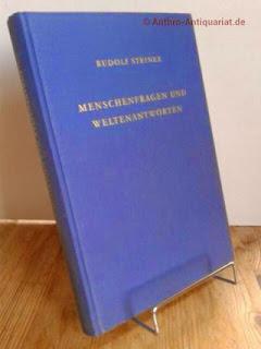 Steiner, Rudolf: Menschenfragen und Weltenantworten