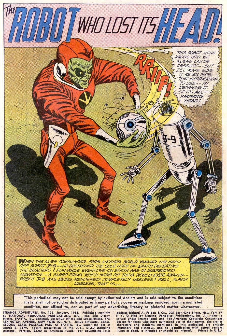 Strange Adventures (1950) issue 136 - Page 3