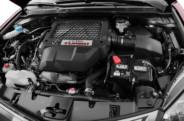 Acura RDX, K23A1, i-VTEC, turbo