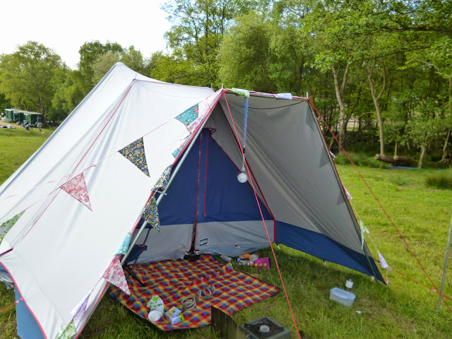 canvas pyramid tent lichfield