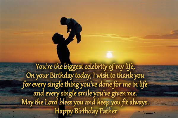 Happy birthday images for Father and wishes
