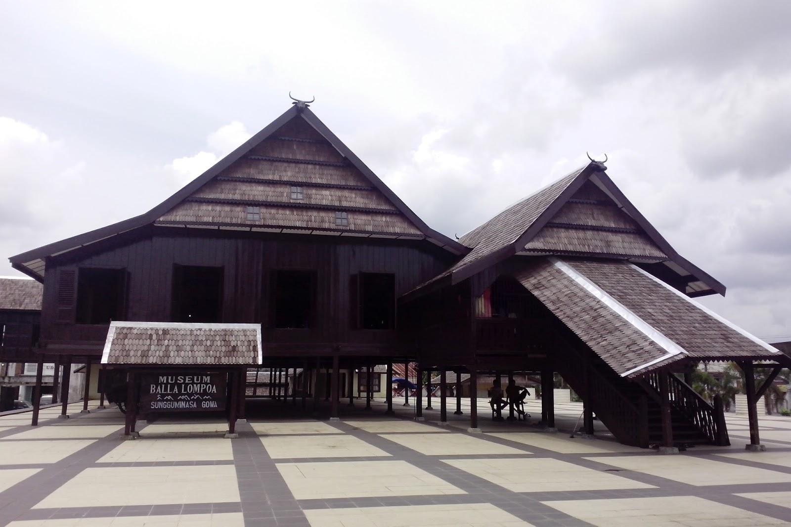 istana tamalatea Museum Balla Lompoa