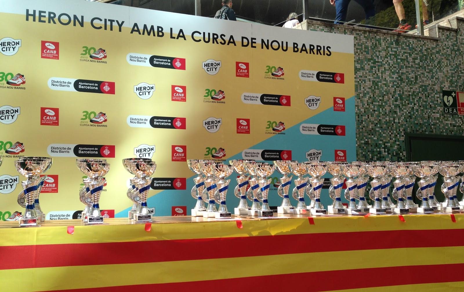 Trofeos Cursa Nou Barris 2016