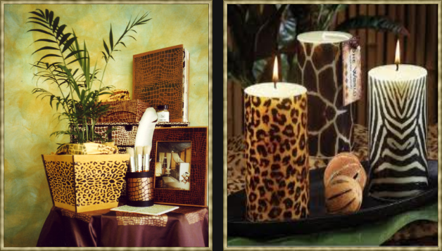 Eye For Design: Decorating With Animal Prints and Hides (Faux Of ...