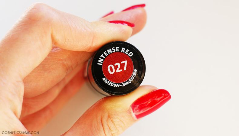 DLACZEGO POLUBIŁAM LAKIERY HYBRYDOWE?  ||  SEMILAC 027 INTENSE RED