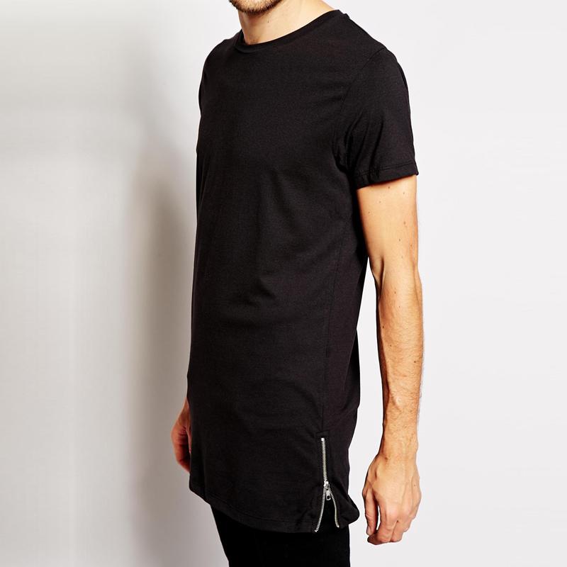 Side Zipper Shirts