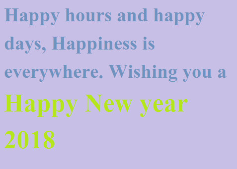 New Year Gifts and Greeting cards
