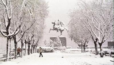 Οι ήρωες του χιονιά