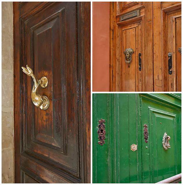 kołatka do drzwi Malta, detale wyspy