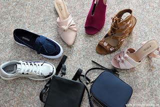 Fashion Review: Justfab - mein Sommerschuh und Taschen Haul - www.annitschkasblog.de