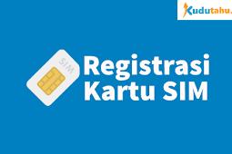 Cara Registrasi Kartu Telkomsel, 3 (Tri), XL, Axis Untuk Kartu Baru Maupun Kartu Lama