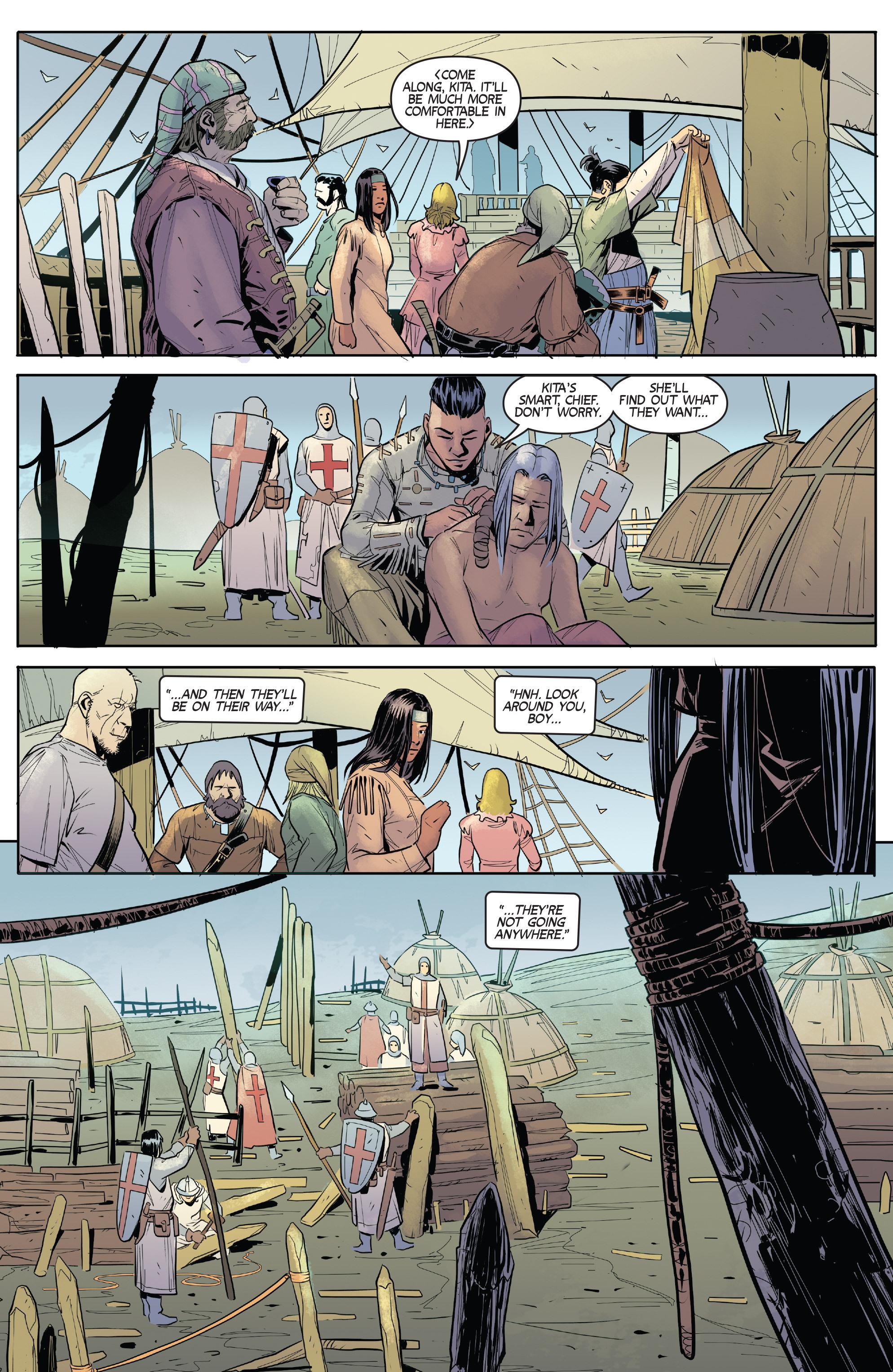 Read online Turok: Dinosaur Hunter (2014) comic -  Issue # _TPB 1 - 35