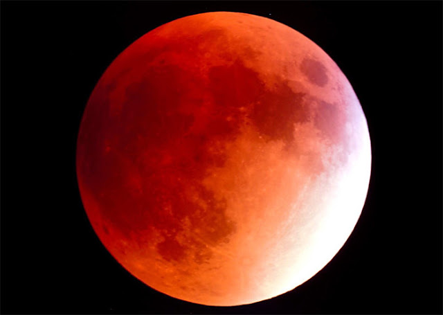 Eclipse Lunar Total - Lua de Sangue - 31 de janeiro de 2018