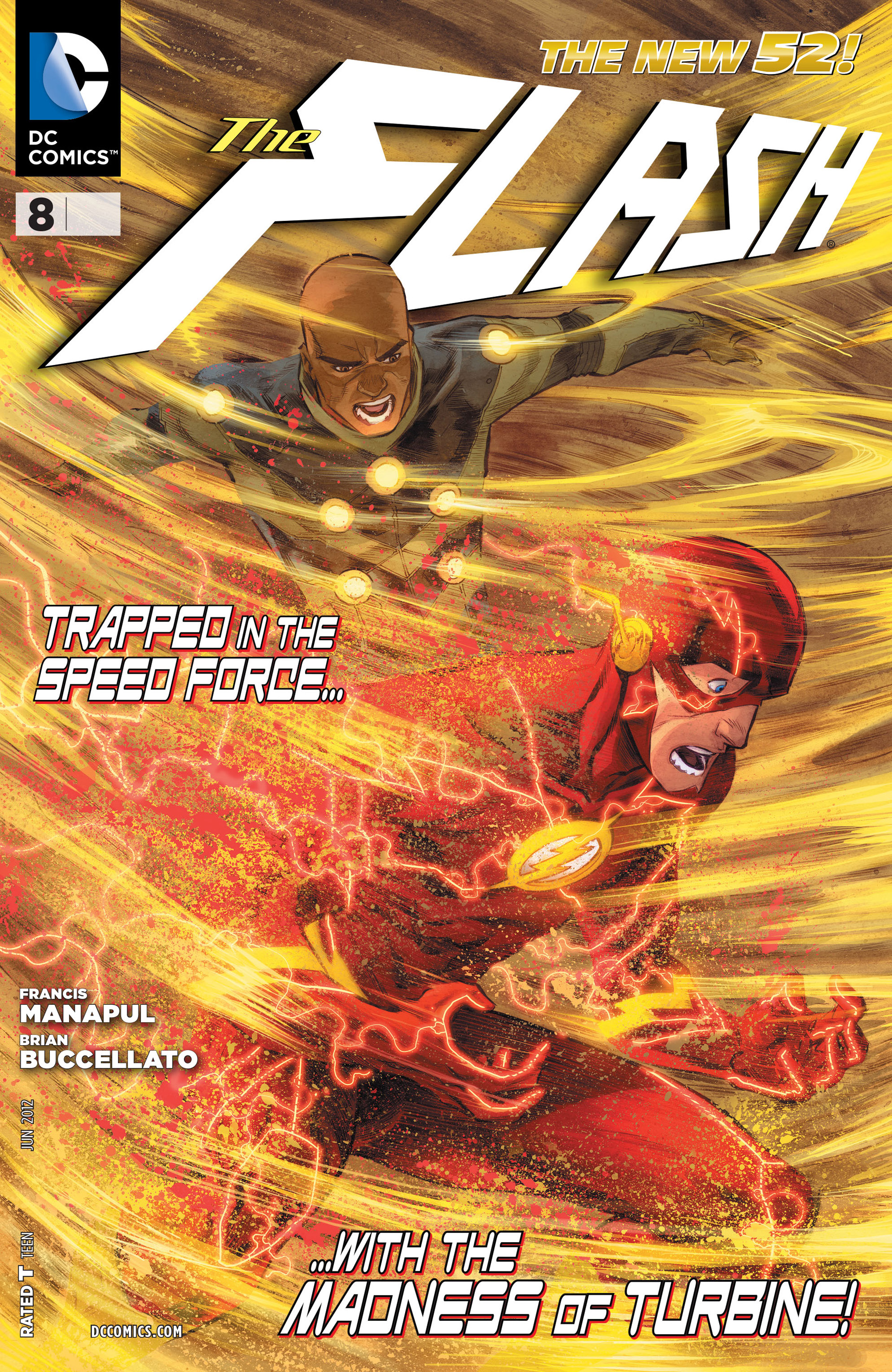 The Flash (2011) issue 8 - Page 1