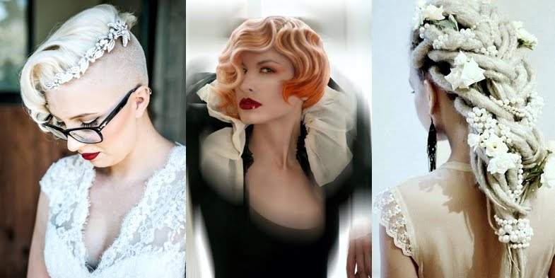 Alternative Bridal Hairstyles
