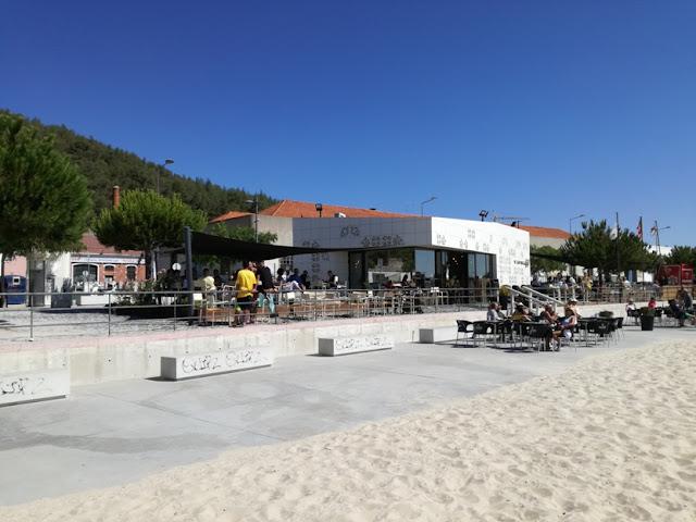 Praia da Saúde em Setúbal