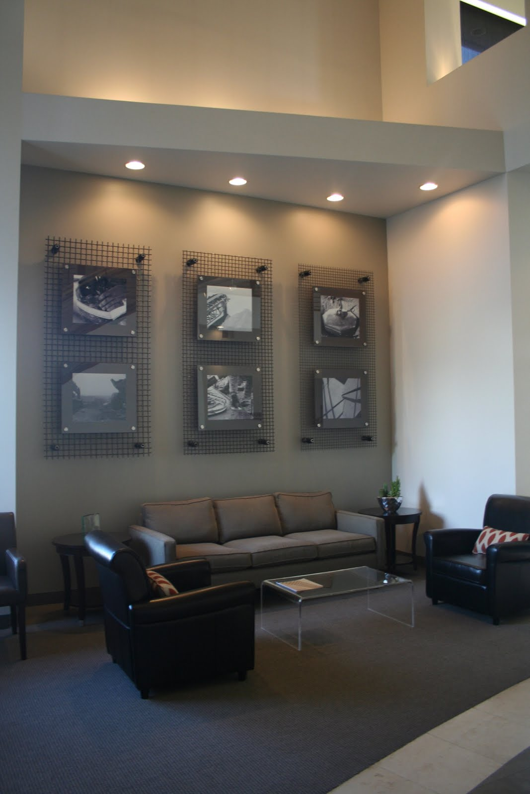Home Design Business Ideas: Design Dump: Project Reveal: Construction Office Lobby
