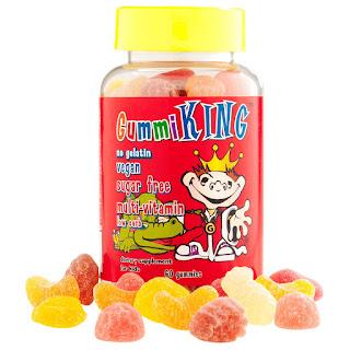 حلاوة مضغ مكملات غذائية للاطفال خالية من السكر