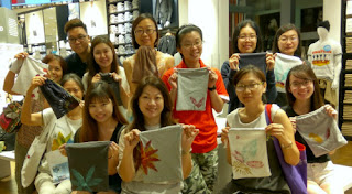 Upcycling Workshop at UNIQLO
