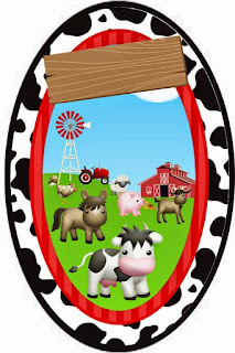 Baby Farm Animals Free Printable Party Kit.
