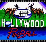 La pantalla de inicio de Hollywood Piball recuerda a la película de terror de Freddy Krueger: Pesadilla en Elm Street