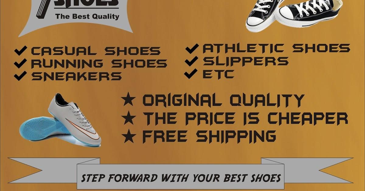 Contoh Iklan Sepatu Beserta Gambarnya Aneka Contoh